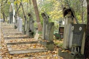 гробно място в София