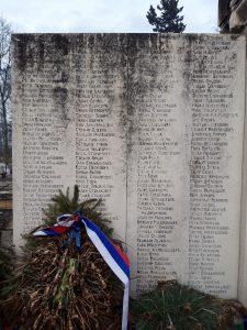 Сръбски военни гробища още имена
